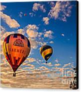 Farmer's Insurance Hot Air Ballon Canvas Print by Robert Bales
