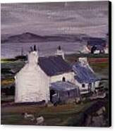 Farmsteading Canvas Print by Francis Campbell Boileau Cadell
