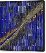Fault Line Blues Canvas Print by Tim Allen