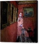 Favorite Painting Canvas Print by Tom Straub