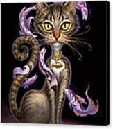 Feline Fantasy Canvas Print by Jeff Haynie