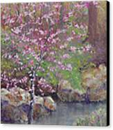 Femme Osage Spring Canvas Print by Lorraine McFarland