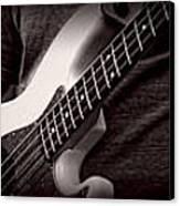 Fender Bass Canvas Print by Bob Orsillo