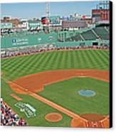 Fenway One Hundred Years Canvas Print by Barbara McDevitt