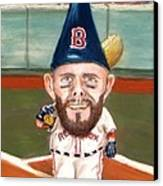 Fenway's Garden Gnome Canvas Print by Jack Skinner