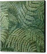 Fern Frenzy Canvas Print by Joann Renner