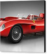 Ferrari 250 Testa Rossa - Spirit Canvas Print by Marc Orphanos