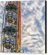 Ferris Wheel Canvas Print by Antony McAulay