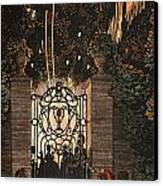 Feu D Artifice Canvas Print by Konstantin Andreevic Somov