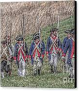 Field Of Honor American Revolution Canvas Print by Randy Steele