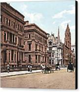 Fifth Avenue Canvas Print by Unknown