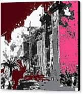 Film Homage D.w. Griffith Intolerance 1916 Fall Of Babylon 1916-2012  Canvas Print by David Lee Guss