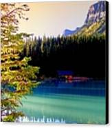 Finding Inner Peace Canvas Print by Karen Wiles