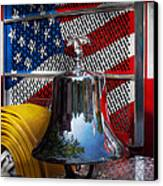 Fireman - Red Hot  Canvas Print by Mike Savad
