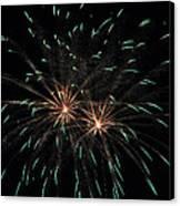 Fireworks 29 Canvas Print by Staci Bigelow