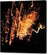 Fireworks 3 Canvas Print by Stephanie Kendall