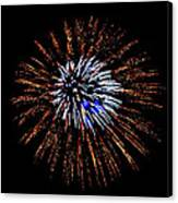 Fireworks Exposion Canvas Print by Gene Walls