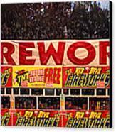 Fireworks Canvas Print by Ron Regalado