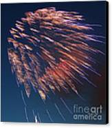Fireworks Series I Canvas Print by Suzanne Gaff