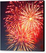 Fireworks Series II Canvas Print by Suzanne Gaff