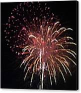 Fireworks Series Xiv Canvas Print by Suzanne Gaff