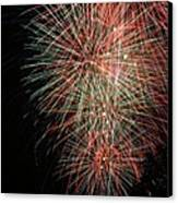 Fireworks6500 Canvas Print by Gary Gingrich Galleries