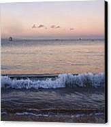 First Light On Ma'alaea Bay Canvas Print by Trever Miller