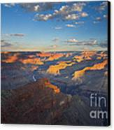 First Light On The Colorado Canvas Print by Mike  Dawson