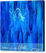 First Love Yourself Canvas Print by The Art With A Heart By Charlotte Phillips
