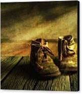 First Shoes Canvas Print by Veikko Suikkanen