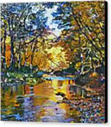 Fisherman's Dream Canvas Print by Kenneth Young
