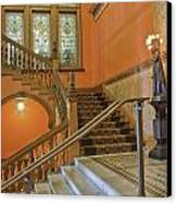Flagler College Entryway Canvas Print by Rich Franco