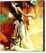 Flamenco Dancer 032 Canvas Print by Catf