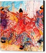 Flamenco Canvas Print by John YATO