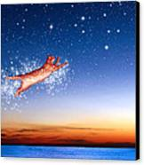 Flight To Sagittarius Canvas Print by Kathleen Horner