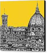 Florence Duomo  Canvas Print by Adendorff Design