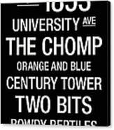 Florida College Town Wall Art Canvas Print by Replay Photos