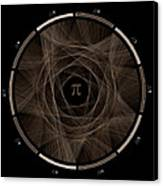Flow Of Life Flow Of Pi #2 Canvas Print by Cristian Vasile