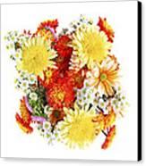 Flower Bouquet Canvas Print by Elena Elisseeva