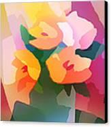Flower Deco II Canvas Print by Lutz Baar