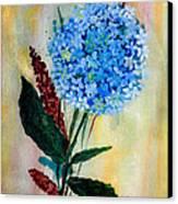 Flower Decor Canvas Print by Nirdesha Munasinghe