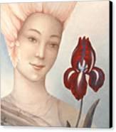 Flower Fairy Canvas Print by Judith Grzimek