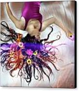 Flower Fire Dream Canvas Print by Andrew Nourse