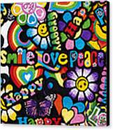Flower Power Canvas Print by Tim Gainey