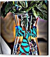 Flower Tie Canvas Print by Joyce Brooks
