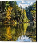 Fly-fishin Canvas Print by Randy Wood