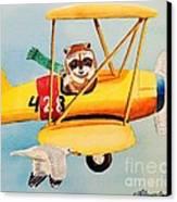 Flying Friends Canvas Print by LeAnne Sowa