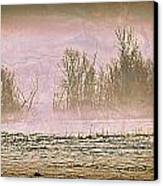 Fog Abstract 2 Canvas Print by Marty Koch