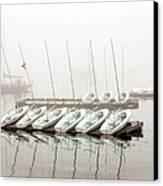 Fogged In Canvas Print by Bob Orsillo