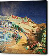 Follow The Yellow Brick Road Canvas Print by Laurie Search